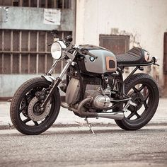 caferacersofinstagram: BMW R80S by @mrg_barras in Hong Kong. Check out more details on @highsnobiety. Solid! #croig #caferacersofinstagram