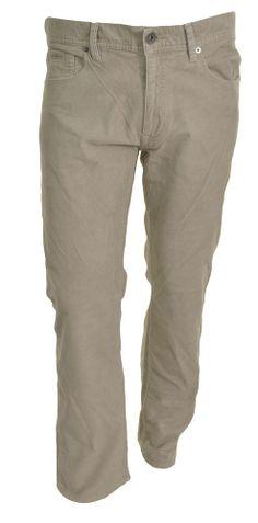 Calvin Klein Mens Corduroy Pants 32x30 Straight Leg Causal Jean Khaki Brown NEW