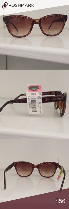 NWT Vince Camuto Sunglasses Brown tortoise shell sunglasses   Smoke free home; open to reasonable offers Vince Camuto Accessories Sunglasses