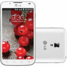 Celular Smartphone Desbloqueado LG Optimus L7 II Dual P716 Branco - Dual Chip, Android 4.1, Câmera 8MP, Tela 4,3, Dual Core 1GHz, 3G, WiFi e...