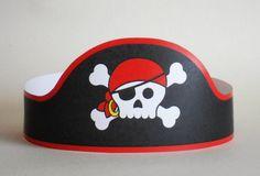 Pirate Paper Crown - Printable