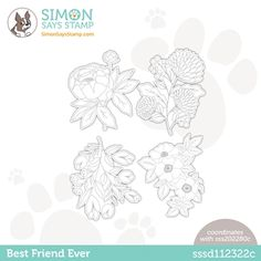 Simon Says Stamp BIG PICTURE BOOK FOX Wafer Dies s569 at Simon Says STAMP! Christmas Cards To Make, Christmas Tree, Fox Crafts, Wafer Thin, Shrink Plastic, Simon Says Stamp, Large Flowers, Big Picture, Emboss