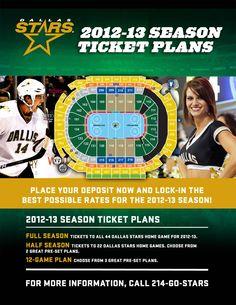 0d0c33e59 Dallas Stars Tickets - Dallas Stars - Tickets. So excited for the season to  start