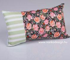 Coral Stripe Green tündérpárna - Nanka Design Bed Pillows, Pillow Cases, Coral, Green, Design, Pillows