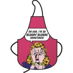 Retro Küchenschürze - Bloody Blond