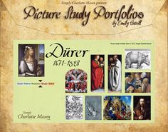 Picture Study Portfolio: Dürer includes everything you need to do a picture study one artist at a time.
