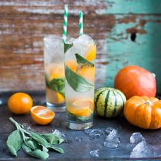 Clementine & Sage Mule Cocktail A twist on the classic Moscow Mule cocktail, the autumnal flavours of clementine and sage make this drink absolutely perfect for Thanksgiving (or your Christmas dinner!). The sage pairs wonderfully with turkey, while the Grey Goose lemon vodka, fresh clementine and ginger beer combine to make a delicious, crisp and fruity drink. Thanks, Joe McCanta - and Happy Thanksgiving!