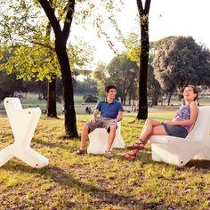 Keer Chair - Wit van Reinier de Jong   Markita.nl