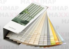 Maxximap - Exxclusive - Swatch Holders - 110364a swatch book - swatch book feature