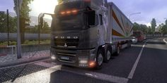This is the truck that I think you've never seen in everywhere! First time appear in Euro Truck Simulator 2 World! It's the Mitsubishi FUSO Truck!