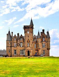 Glengorm castle on the Isle of Mull, Scotland