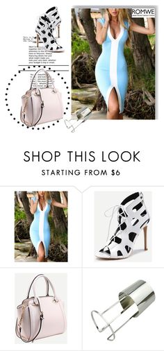 """""""Romwe V/4"""" by minka-989 ❤ liked on Polyvore featuring romwe"""