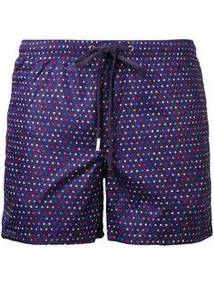 FEFÈ GLAMOUR POCHETTE Printed Swim Shorts. #fefèglamourpochette #cloth #shorts