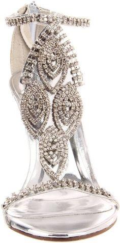 <<Shoe addict pin pals>>karen cox.   Celeste Women's Crystal-05 Ankle-Strap Sandal: Shoes