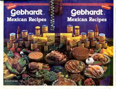 As the company's products expanded the Gebhardt name became synonymous with packaged Mexican food #utsalibraries #gebhardt #chili #tacos #mexicanfood #mexicanrecipes lib.utsa.edu/gebhardt