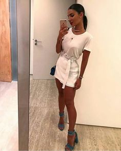 Get feedback on your own looks & rate other outfits. How many stars would you rate this look ? Rate fashion and get feedback on your style on the Trendy Outfits, Summer Outfits, Cute Outfits, Girl Fashion, Fashion Outfits, Womens Fashion, Fashion Trends, Vestidos Color Pastel, Looks Party