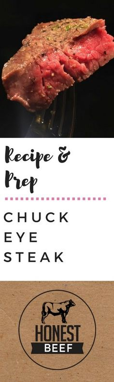 Chuck Eye Steak with Caramelized Onions on Honest Beef Company