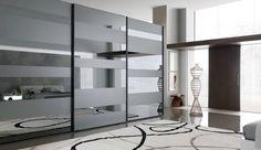 glass wardrobe door designs for bedroom indian Bedroom Door Design, Bedroom Cupboard Designs, Wardrobe Design Bedroom, Bedroom Doors, Glass Wardrobe Doors, Wooden Wardrobe, Mirrored Wardrobe, Pax Wardrobe, Ideas Armario