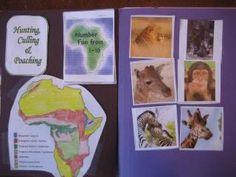 Africa Unit Study and Lapbook | I Choose Joy!