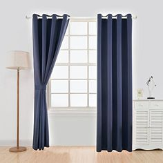 YOJA Thermal Insulated Window Treatment Blackout Curtains...