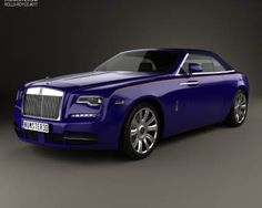 model of Rolls-Royce Dawn 2017 Convertible, Rolls Royce Dawn, Car 3d Model, Bentley Car, Modelos 3d, Rolls Royce Phantom, Suv Cars, Automotive News, Cool Trucks