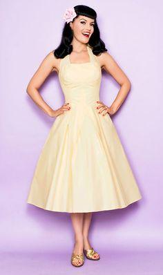 La novia pin up - vestido blanco