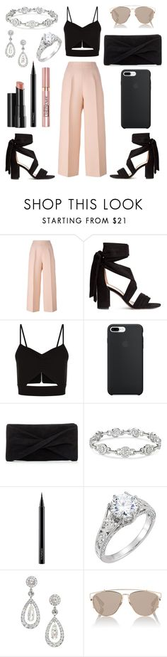 """""""Untitled #136"""" by itsmexo ❤ liked on Polyvore featuring Fendi, Racil, Reiss, Arbonne, MAC Cosmetics, L'Oréal Paris and Christian Dior"""