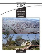 Potential increases in hurricane damage in the United States: Implications for the federal budget