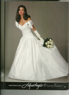 Classic Alfred Angelo Gown Vintage WeddingsVintage Wedding