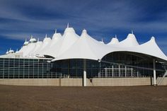 One of the greenest airports in the world: Denver International Airport (USA)
