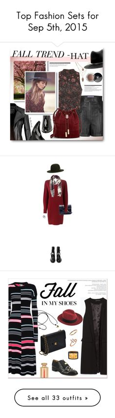 """""""Top Fashion Sets for Sep 5th, 2015"""" by polyvore ❤ liked on Polyvore featuring Emanuel Ungaro, Prada, Miss Selfridge, rag & bone, Vince Camuto, Arche, Chanel, Lanvin, Forever 21 and Casadei"""