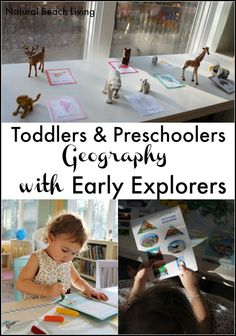 Geography for Toddlers and Preschoolers with Early Explorers (Giveaway)