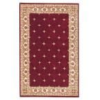 Windsor Burgundy (Red) 8 ft. x 11 ft. Area Rug
