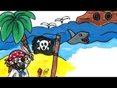 Veilig leren lezen - kern 7    Piratenlied van Liedjesmamma |Pinned from PinTo for iPad|