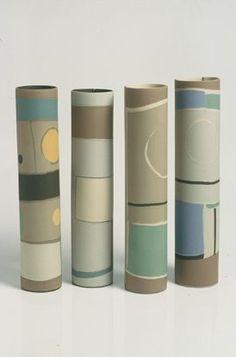 SDstuffs Bottle Painting, Bottle Art, Slab Pottery, Ceramic Pottery, Cement Crafts, Ceramic Techniques, Cardboard Art, Ceramics Projects, Pottery Designs