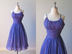 vintage 1950s Dress / 50s Prom Dress / by TheVintageMistress junior bridesmaid
