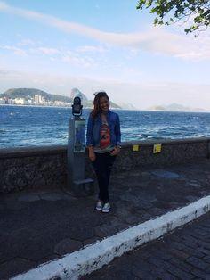 #ForteCopacabana #RioDeJaneiro #Trip #Errejota #Brasil #Viagem #Bora #Copacabana #Turista