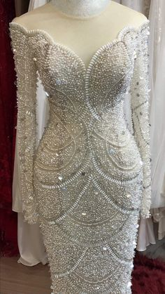Beautiful Wedding Gowns, Classic Wedding Dress, Wedding Dress Trends, Sexy Wedding Dresses, Wedding White, Tulle Wedding, African Wedding Attire, Glamorous Dresses, Latest African Fashion Dresses