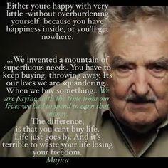 to listen to president Jose Mujica's 1 minute and twenty-five seconds speech: <https://uk.pinterest.com/margaretalmon/awesome-women/https://www.facebook.com/SpanishRevolution/videos/892452077510261/?fref=nf>