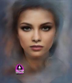 Digital Art by #Madamnesia #illustrator #painting #Nine #volto #digitalart #portraits #drawing #vectorportraits #portfolio #arte #artworks #people #community #artists #inspiration #works #project #colore #eye #particular #giorno #vestito #cielo  #Angelica