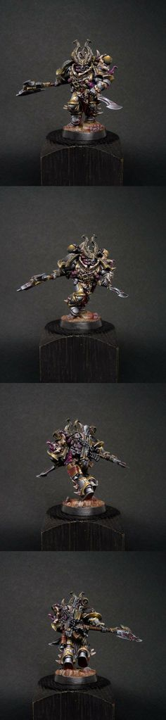 40k - Chaos Space Marine Aspiring Champion by REDAV