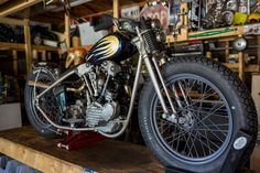 "Custom Harley-Davidson EL/FL ""Knucklehead"" by Prism Motorcycle Co. 