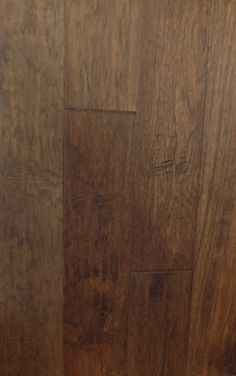 "American Hickory Chestnut Handscraped Engineered Wood 5"" - $2.99 s.f. Hickory Wood, Hardwood Floors, Flooring, Open Floor, Engineered Wood, Engineering, Floor Plans, American, Ideas"