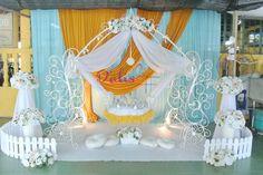 Pelamin buaian berendoi, cukur jambul, pakej aqiqah, royal theme Royal Cradle  Majlis di Pantai Dalam www.alisdeco.blogspot.com Alis 0123550657
