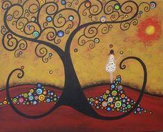 Childhood Dreams by Artist Juli Cady Ryan