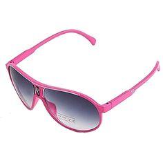 09bc9a20b5 EVRYLON Gafas de sol niña 4 6 8 10 años de gota modelo aviador con lentes