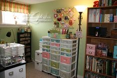 LW Designs: Workspace Wednesday - Plastic Drawer Makeover