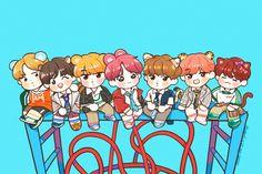 #Táo Bts Chibi, Bts Taehyung, Bts Bangtan Boy, Jimin, Cartoon Wallpaper, Bts Wallpaper, Bts Anime, Fanart Bts, Kpop Drawings