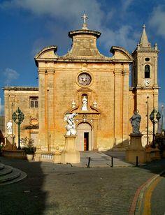 Mid-17th-century Church of Balzan, Malta.