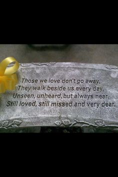 RIP to all my loved ones in heaven!